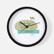 Everybody Loves a Bobsledder Wall Clock