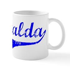 Esmeralda Vintage (Blue) Small Mug