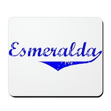 Esmeralda Vintage (Blue) Mousepad