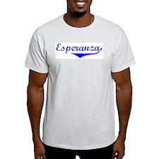 Esperanza Vintage (Blue) T-Shirt