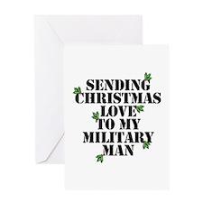 Sending Cmas Love Greeting Cards