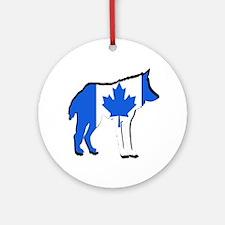 CANADA Round Ornament
