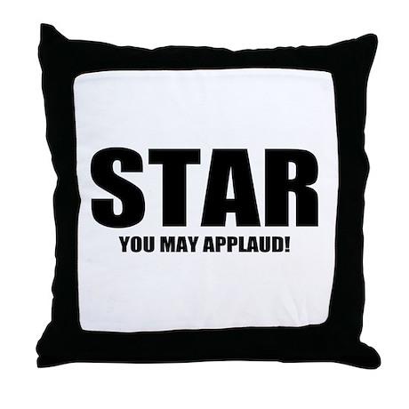 "ThMisc ""Star"" Throw Pillow"