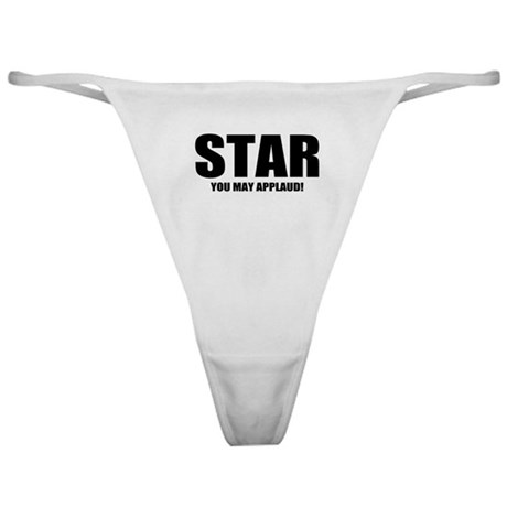 """ThMisc """"Star"""" Classic Thong"""
