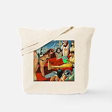 Funny Cleopatra Tote Bag