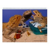 Bearded dragon Wall Calendars