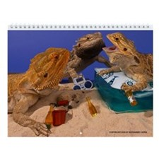 Funny Dragons Wall Calendar