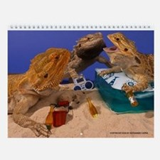 Cute Dragon art Wall Calendar