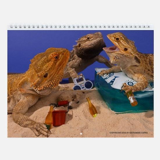 Unique Pets Wall Calendar