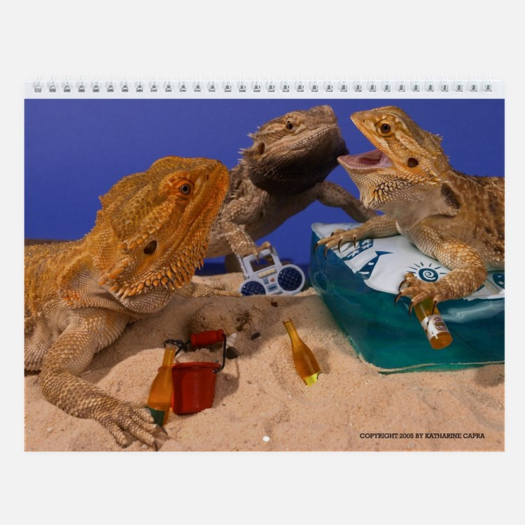 Cute Unique dragon Wall Calendar