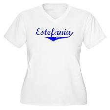 Estefania Vintage (Blue) T-Shirt