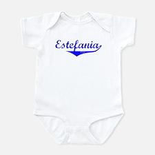 Estefania Vintage (Blue) Onesie