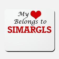 My Heart Belongs to Simargls Mousepad