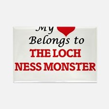 My Heart Belongs to The Loch Ness Monster Magnets