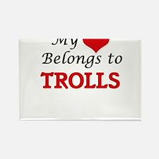 My Heart Belongs to Trolls Magnets