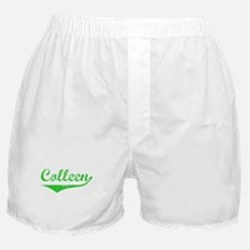 Colleen Vintage (Green) Boxer Shorts