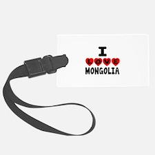 I Love Mongolia Luggage Tag