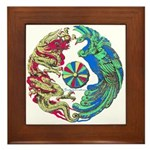 Mikado Dragon Framed Tile