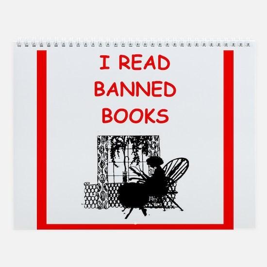 Book Lover Wall Calendar