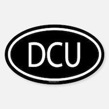 DCU Oval Decal
