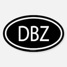 DBZ Oval Decal