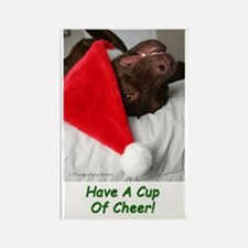 Cup Of Cheer Rectangle Magnet (100 Pack) Magnets