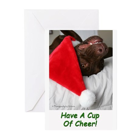 Cup Of Cheer Blank (pk 10) Greeting Cards