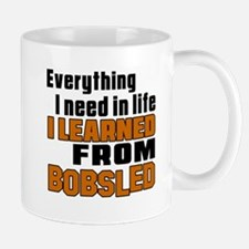 Everything I Learned From Bobsled Mug