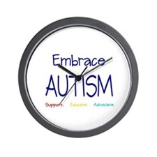 Embrace Autism Wall Clock