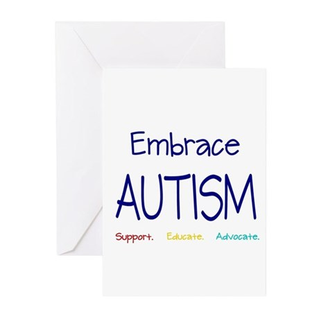 Embrace Autism Greeting Cards (Pk of 10)