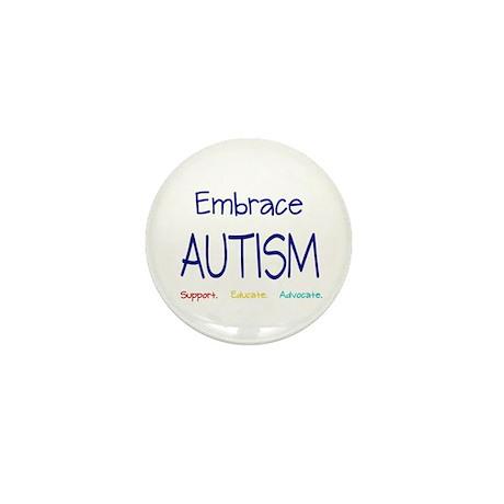Embrace Autism Mini Button (100 pack)