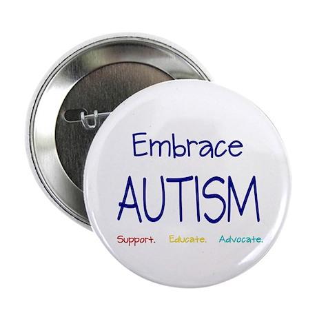 """Embrace Autism 2.25"""" Button (10 pack)"""