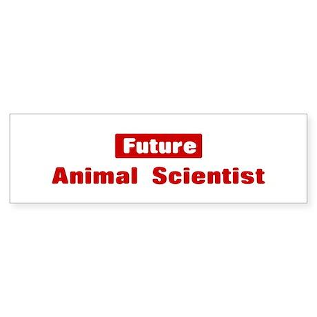 Future Animal Scientist Bumper Sticker