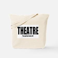 """ThMisc """"Theatre"""" Tote Bag"""