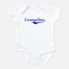 Evangeline Vintage (Blue) Infant Bodysuit