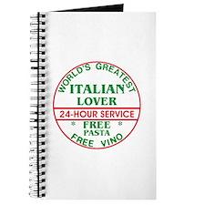 Italian Lover - Journal