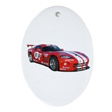 Dodge Viper Oval Ornament