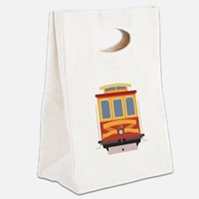 San Francisco Trolley Canvas Lunch Tote