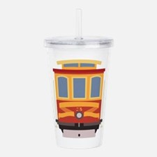 San Francisco Trolley Acrylic Double-wall Tumbler