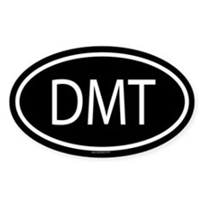DMT Oval Bumper Stickers