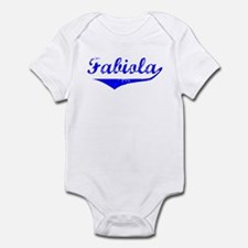 Fabiola Vintage (Blue) Infant Bodysuit