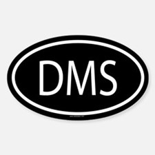 DMS Oval Decal