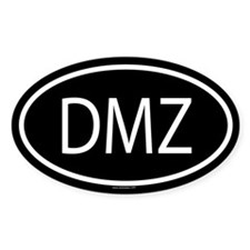 DMZ Oval Decal