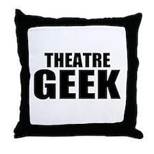 "ThMisc ""Theatre Geek"" Throw Pillow"