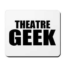 "ThMisc ""Theatre Geek"" Mousepad"