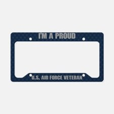 U.S. Air Force Proud Veteran License Plate Holder
