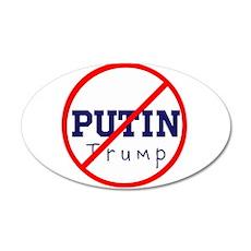 Putin/Trump, No Trump Wall Decal