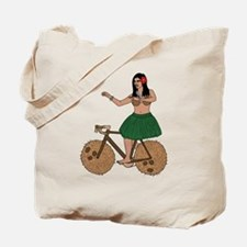 Cute Hula girl Tote Bag