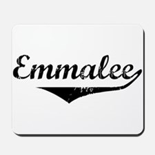 Emmalee Vintage (Black) Mousepad