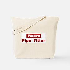 Future Pipe Fitter Tote Bag